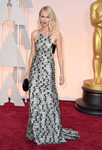 Dresses at the Oscars 2015 Naomi Watts