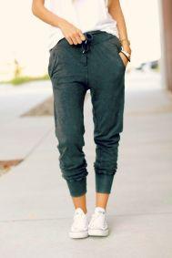 everydayfacts skinny sweatpants
