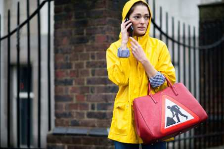 everydayfacts Anya Hindmarch road sign bag