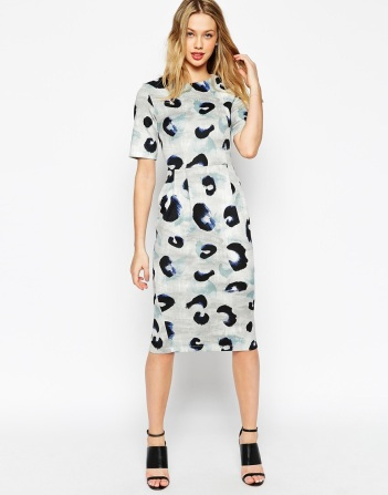 everydayfacts ASOS animal print dress