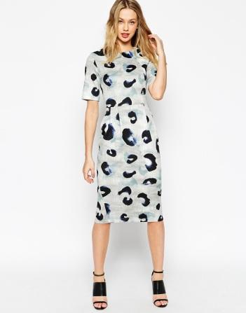 everydayfacts ASOS animal print dress
