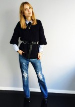 everydayfacts belted sweater