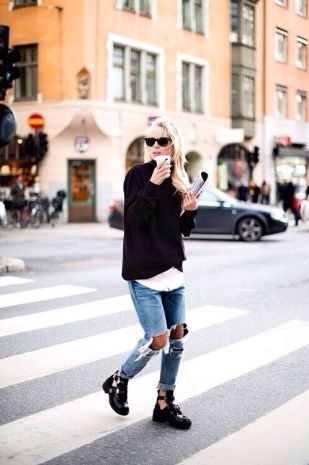 everydayfacts cut-out boots
