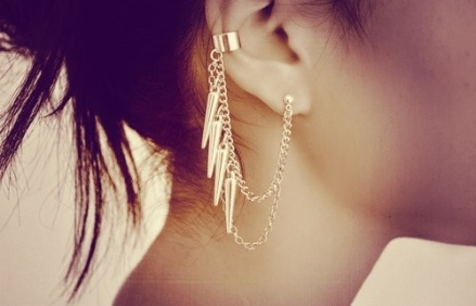 everydayfacts ear cuff earring