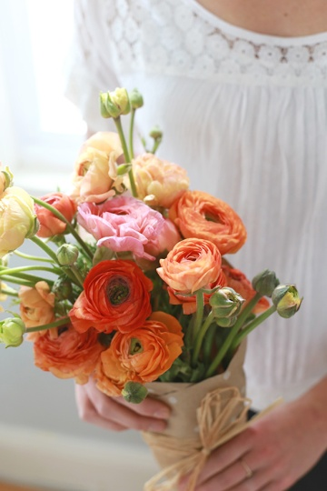 everydayfacts how to wrap flowers