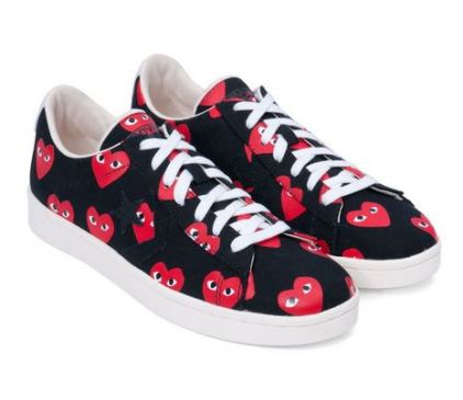 everydayfacts comme des garcons play sneakers