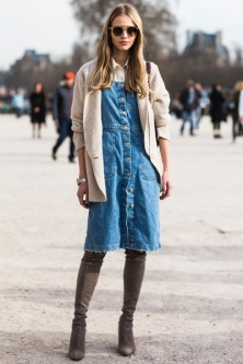 everydayfacts jeans dress