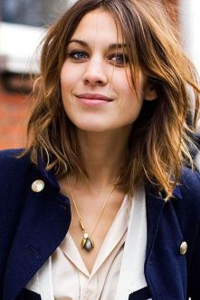long bangs everydayfacts Alexa Chung
