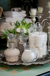 everydayfacts silver tray home deco