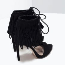 everydayfacts fringed sandals zara
