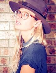 Jessica Hart glasses