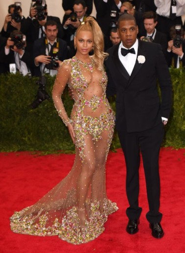 Met Gala 2015 Beyonce and JayZ
