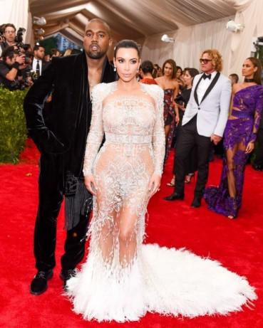 Met Gala 2015 Kim Kardashian & Kanye West