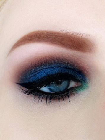 everydayfacts blue eyeshadow