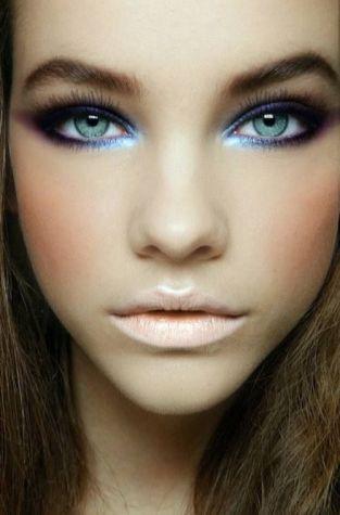 everydayfacts blue eyeshadow
