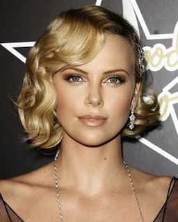 everydayfacts glam waves Charlize Theron