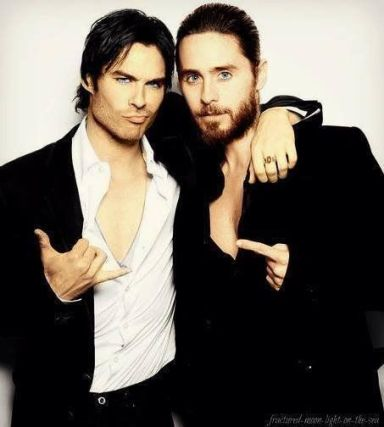 everydayfacts Ian Somerhalder Jared Leto