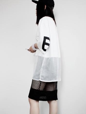 everydayfacts mesh skirt