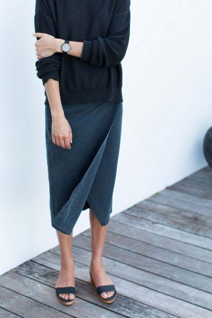 everydayfacts wrap skirt