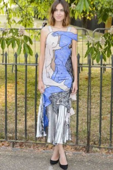 Alexa Chung At The Serpentine Summer Party