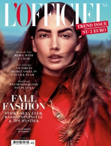 everydayfacts Lily Aldridge for L'OFFICIEL Netherlands Cover Story
