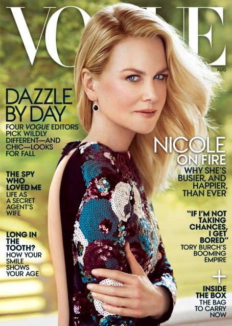 everydayfacts Nicole Kidman in Marc Jacobs for Vogue