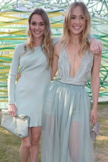 Suki & Immy Waterhouse At The Serpentine Summer Party