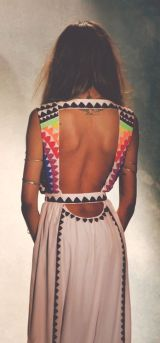everydayfacts backless dress