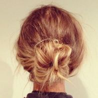 everydayfacts low messy bun