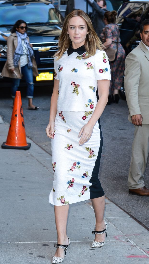 everydayfacts emily blunt outfit