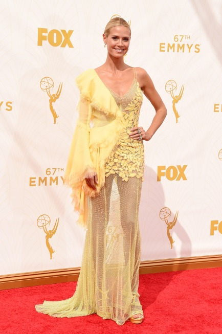everydayfacts Emmy 2015 Heidi Klum