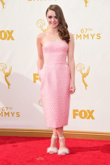 everydayfacts Emmy 2015 Maisie Williams