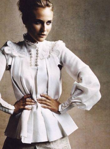 everydayfacts gothic white shirt