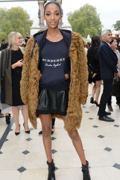 LFW Fall 2015 Jourdan Dunn