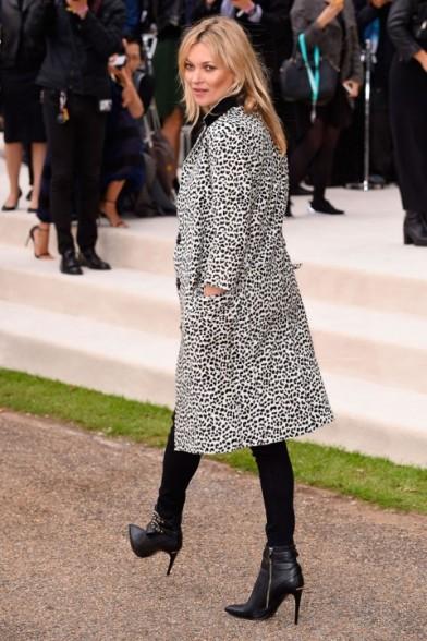 LFW Fall 2015 Kate Moss