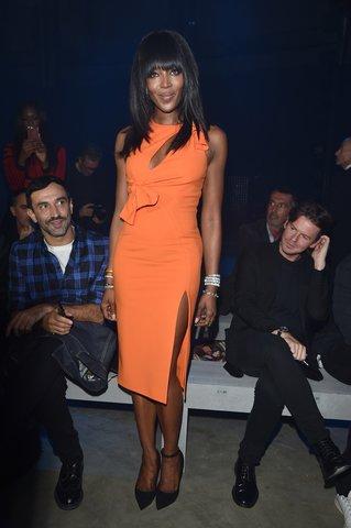 MFW 2015 celebrity Naomi Campbell