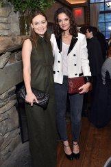 Chanel Lunch Tribeca Katie Holmes, Olivia Wilde