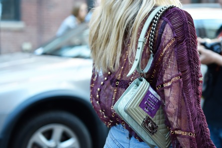 fashion week bags cool