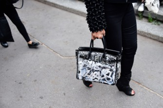 fashion week bags crazy hermes