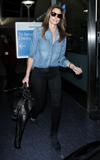 everydayfacts Inspiration Outfits Cindy Crawford