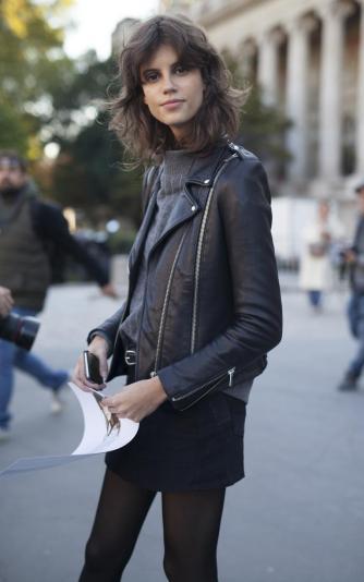 weekday inspiration Paris model