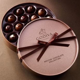 chocolate box godiva