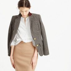 everydayfacts j.crew blazer