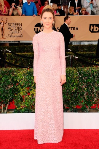 Sag Awards 2016 Saoirse Ronan