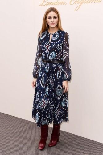 everydayfacts Olivia-Palermo London Fashion Week